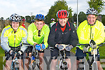 Shane Murphy, Gary Fenn, Frank Fenn and Pat Rigney Ballybunion who competed in the Ring of Kerry cycle on Saturday....