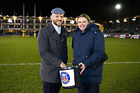 Bath Rugby Foundation raffle. Aviva Premiership match, between Bath Rugby and Wasps on December 29, 2017 at the Recreation Ground in Bath, England. Photo by: Patrick Khachfe / Onside Images