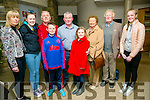 The documentary, 'Spa Fenit: A Journey Through Time',  the sequel at  Siamsa Tire on Saturday pictured  l-r  Carmel Kelly, Cara Kelly, Joe Kelly, Thomas Kelly, Saoirse Kelly, Noreen Murphy, Brendan Murphy, Jim McCarthy and Aisling Kelly