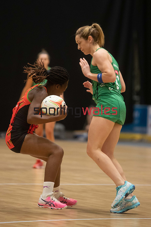 Northern Ireland v Malawi<br /> 2019 Test Match Series<br /> Viola Arena Wales<br /> 07.07.19<br /> ©Steve Pope<br /> Sportingwales