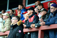 Fleetwood Town fans look on<br /> <br /> Photographer Richard Martin-Roberts/CameraSport<br /> <br /> The EFL Sky Bet League One - Fleetwood Town v Shrewsbury Town - Saturday 13th October 2018 - Highbury Stadium - Fleetwood<br /> <br /> World Copyright &not;&copy; 2018 CameraSport. All rights reserved. 43 Linden Ave. Countesthorpe. Leicester. England. LE8 5PG - Tel: +44 (0) 116 277 4147 - admin@camerasport.com - www.camerasport.com