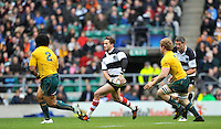 Twickenham, GREAT BRITAIN, Danny CIPRIANI, during the 2011 Killik Cup Match Barbarians [Baa Baa's] vs Australia, Played at the RFU Stadium Twickenham, Surrey on Saturday 26/11/2011 [Photo, Peter Spurrier/Intersport-images]