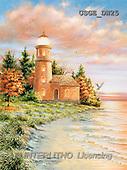 Dona Gelsinger, LANDSCAPES, paintings(USGEDW25,#L#) Landschaften, Schiffe, paisajes, barcos, llustrations, pinturas