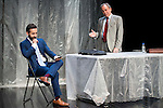 "Pepe Ocio and Philip Rogers during the theater play of ""Debate"", the comeback to the teather of Toni Canto at Teatros del Canal in Madrid. May 03, 2016. (ALTERPHOTOS/Borja B.Hojas)"