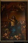 Trinity Between Angels Giovanni Francesco Barbieri il Guercino 1650 San Nicola in Carcere Rome