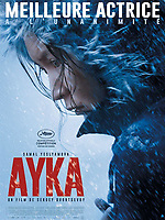 Ayka (2018) <br /> French poster<br /> *Filmstill - Editorial Use Only* see Special Instructions.<br /> CAP/PLF<br /> Image supplied by Capital Pictures