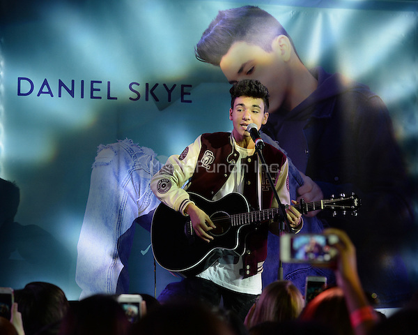 FORT LAUDERDALE, FL - JANUARY 16: Daniel Skye performs for Radio Station Y100 at Extreme Action Park on January 16, 2017 in Fort Lauderdale, Florida. Credit: mpi04/MediaPunch