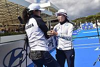 Chang Hye Jin Korea Bronze Medal Recurve Women Arco Olimpico <br /> Roma 03-09-2017 Stadio dei Marmi <br /> Roma 2017 Hyundai Archery World Cup Final <br /> Finale Coppa del mondo tiro con l'arco <br /> Foto Andrea Staccioli Insidefoto/Fitarco