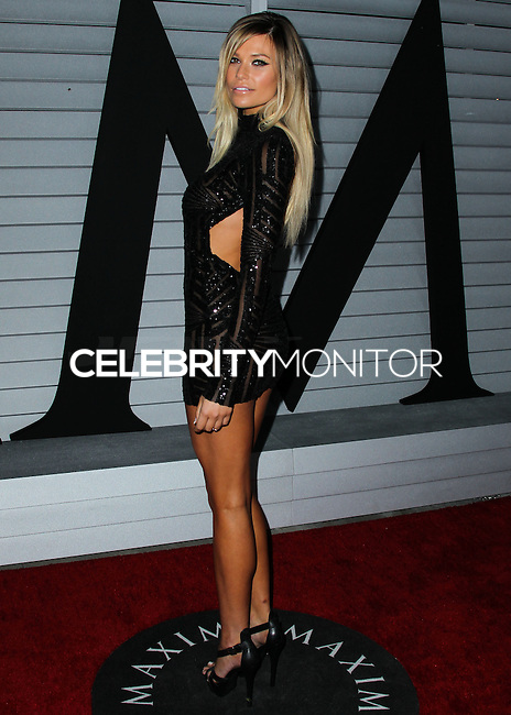 WEST HOLLYWOOD, CA, USA - JUNE 10: Samantha Hoopes at the MAXIM Hot 100 Party held at the Pacific Design Center on June 10, 2014 in West Hollywood, California, United States. (Photo by Xavier Collin/Celebrity Monitor)