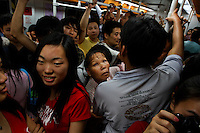 Subway and other street scenes in Guangzhou.General contact for photographs is Nicole Cheng +86 139 2214 1600