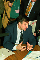 Montreal (Qc) CANADA - 1995 File Photo - April 1995 - Bloc Quebecois convention,