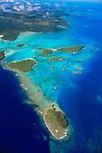 Baie des crabes, Gadji, Nord de l'Ile des Pins, Nouvelle-Calédonie. Site classé au Patrimoine Mondial de l'Humanité (UNESCO)