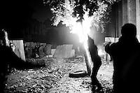 Cairo: Clashes in Kasr El Ainy Street, December 17, 2011