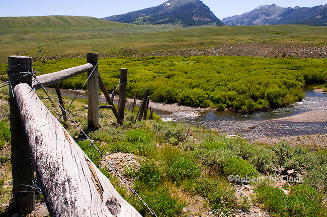 Satr Hope Creek in the Copper Basin near Sun Valley, Idaho