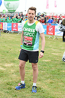 Christopher Harper<br /> at the start of the 2017 London Marathon on Blackheath Common, London. <br /> <br /> <br /> ©Ash Knotek  D3253  23/04/2017