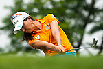 CHON BURI, THAILAND - FEBRUARY 17:  Hee Young Park of South Korea tees off on the 12th hole during day two of the LPGA Thailand at Siam Country Club on February 17, 2012 in Chon Buri, Thailand.  Photo by Victor Fraile / The Power of Sport Images