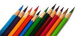Colored pencil graphic.