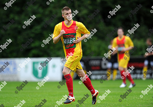 2012-07-12 / Voetbal / seizoen 2012-2013 / SV Bornem / Axel Hermans..Foto: Mpics.be