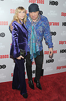 NEW YORK, NEW YORK - JANUARY 09:Maureen Van Zandt and Steven Van Zandt attends the 'The Sopranos' 20th Anniversary Panel Discussion at SVA Theater on January 09, 2019 in New York City. <br /> CAP/MPI/JP<br /> ©JP/MPI/Capital Pictures