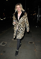 Ashley James out and about, spotted walking along King's Road, Chelsea, London, England, UK, on Sunday 04 November 2018.<br /> CAP/CAN<br /> &copy;CAN/Capital Pictures