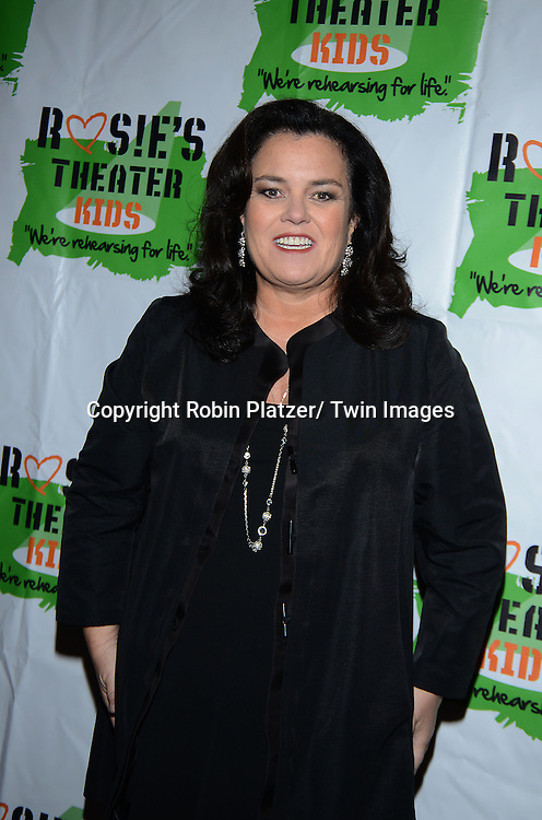 Rosie O 'Donnell attends  Rosie's Theater Kids 10th Anniversary Gala on September 25, 2013 at the Marriott Marquis Hotel in New York City. The event is hosted by Rosie O' Donnell.