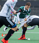 AMSTELVEEN - Jeroen Hertzberger (R'dam)     tijdens de hoofdklasse competitiewedstrijd heren, AMSTERDAM-ROTTERDAM (2-2). COPYRIGHT KOEN SUYK