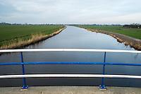 Nederland, Woerden, 24 jan 2014<br /> Riviertje de Wiericke nabij Woerden.   <br /> Foto (c) Michiel Wijnbergh