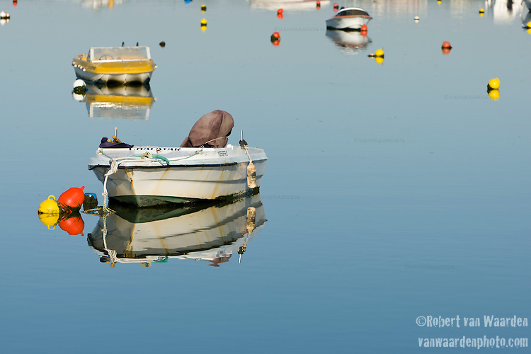 Boats in Faro, Portugal