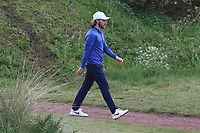 Tommy Fleetwood (ENG) walking off the 3rd tee during Round 2 of the Betfred British Masters 2019 at Hillside Golf Club, Southport, Lancashire, England. 10/05/19<br /> <br /> Picture: Thos Caffrey / Golffile<br /> <br /> All photos usage must carry mandatory copyright credit (&copy; Golffile | Thos Caffrey)