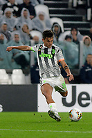 30th October 2019; Allianz Stadium, Turin, Italy; Serie A Football, Juventus versus Genoa; Paulo Dybala of Juventus has a shot at goal - Editorial Use