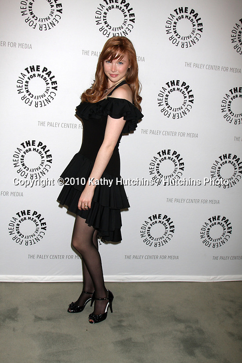 "Molly C. Quinn.arrives at the ""An Evening With Castle""  .Paley Center For Media.Los Angeles, CA.March 16, 2010.©2010 Kathy Hutchins / Hutchins Photo...."