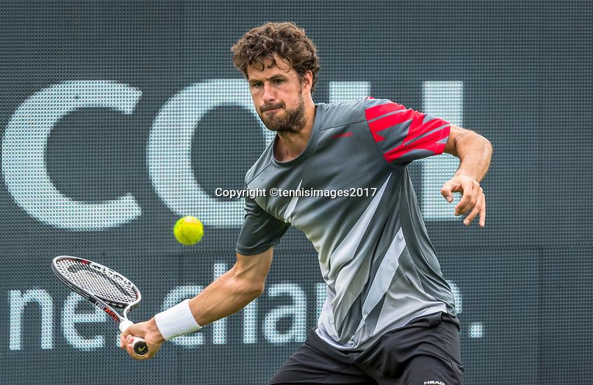 Den Bosch, Netherlands, 13 June, 2017, Tennis, Ricoh Open, Robin Haase (NED)<br /> Photo: Henk Koster/tennisimages.com
