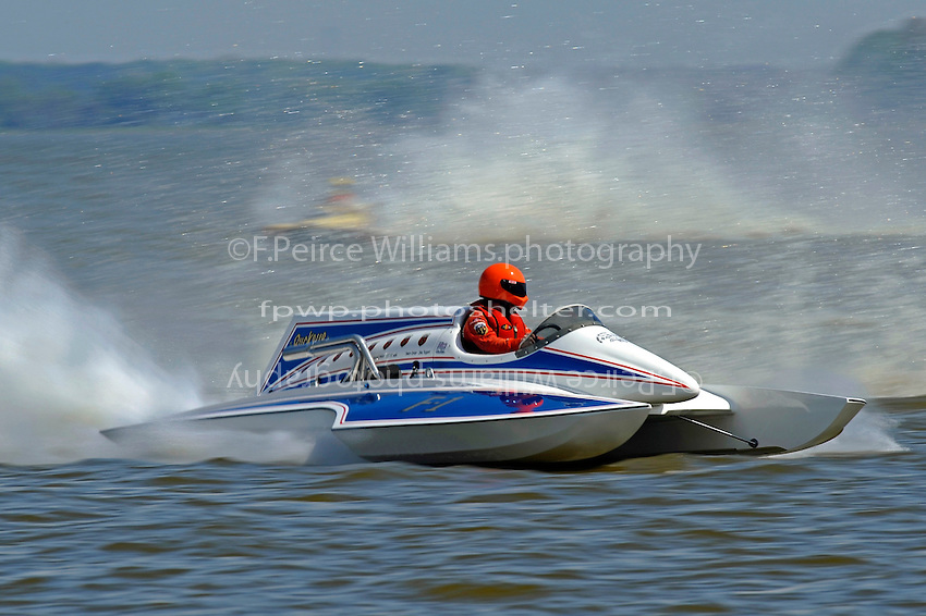 """Mike Webster, F-1 """"The Buckeye Kid"""" (Ron Jones cabover hydroplane)"""