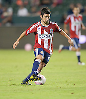 CARSON, CA – OCTOBER 9: Chivas USA midfielder Paolo Nagamura (26) during a soccer match at Home Depot Center, October 9, 2010 in Carson California. Final score Chivas USA 3, Toronto FC 0...
