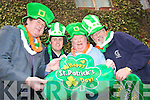 Launching the Tralee Saint patricks Day festival on the 17th of March from left John Griffin, Ristea?rd O'Fuara?in, Danny Leane and Cllr Johnny Wall.