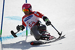 Takeshi Suzuki (JPN), <br /> MARCH 14, 2018 - Alpine Skiing : <br /> men's Giant Slalom Sitting <br /> at Jeongseon Alpine Centre  <br /> during the PyeongChang 2018 Paralympics Winter Games in Pyeongchang, South Korea. <br /> (Photo by Sho Tamura/AFLO SPORT)