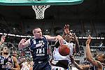 Mannheim 17.01.2009, Kampf um dem Ball unter dem Korb von BBL Team Nord Nathan Peavy, Andrew Drevo, BBL Team S&uuml;d Brandon Kyle Bowman und BBL Team Nord Immanuel McElroy im Spiel S&uuml;d - Nord beim Basketball All Star Day 2009<br /> <br /> Foto &copy; Rhein-Neckar-Picture *** Foto ist honorarpflichtig! *** Auf Anfrage in h&ouml;herer Qualit&auml;t/Aufl&ouml;sung. Belegexemplar erbeten.