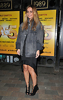 """Louise Redknapp at the """"9 To 5 The Musical"""" theatre cast stage door departures, The Savoy Theatre, The Strand, London, England, UK, on Saturday 11th May 2019.<br /> CAP/CAN<br /> ©CAN/Capital Pictures"""