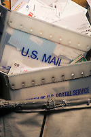 Carts of mail<br />
