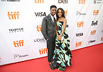 Lamar Johnson and Rachel Hilson attends the 'Kings' premiere during the 2017 Toronto International Film Festival at Roy Thomson Hall on September 13, 2017 in Toronto, Canada.