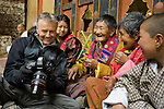 Art Wolfe on location in Bhutan for Travels to the Edge.