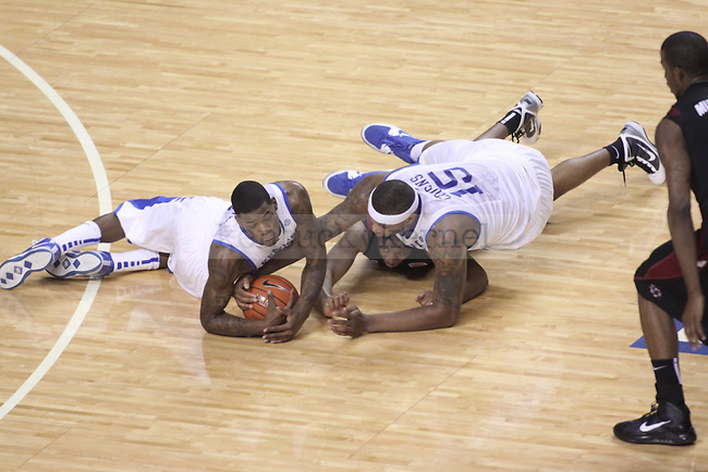 The University of Kentucky plays South Carolina at Rupp Arena on Thursday, Feb. 25, 2010. Photo by Scott Hannigan | Staff