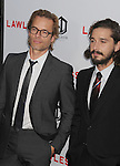 HOLLYWOOD, CA - AUGUST 22: Guy Pearce and Shia LaBeouf arrive at the 'Lawless' Los Angeles Premiere at ArcLight Cinemas on August 22, 2012 in Hollywood, California. /NortePhoto.com....**CREDITO*OBLIGATORIO** *No*Venta*A*Terceros*..*No*Sale*So*third* ***No*Se*Permite*Hacer Archivo***No*Sale*So*third*