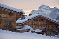 """Europe/France/Rhone-Alpes/74/Haute-Savoie/Megève: Chalets du quartier """"Les Perchets"""""""