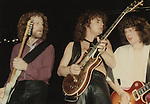 April Wine members Gary Moffet,  Myles Goodwyn, Brian Greenway
