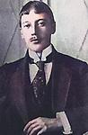 Russian poet Nikolai Gumilev (1886-1921).