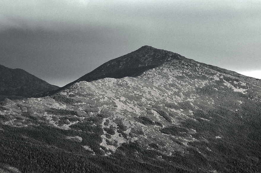 The Osgood Ridge leads up to the rocky cone of Mt. Madison.