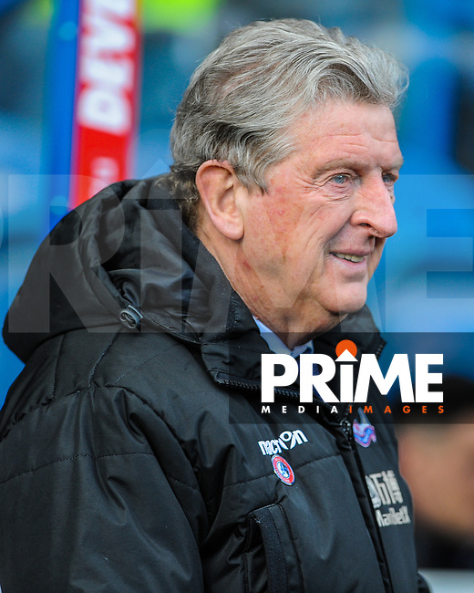 Crystal Palace's manager Roy Hodgson during the EPL - Premier League match between Huddersfield Town and Crystal Palace at the John Smith's Stadium, Huddersfield, England on 17 March 2018. Photo by Stephen Buckley / PRiME Media Images.