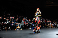 Maria Escote at Mercedes-Benz Fashion Week Madrid 2013