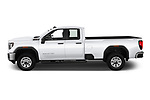 Car Driver side profile view of a 2020 GMC Sierra-3500HD - 4 Door Pick-up Side View